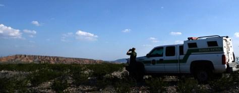 Image: United States Border Patrol agent Brecht Merrill