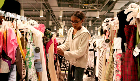 Image: Retail shopper