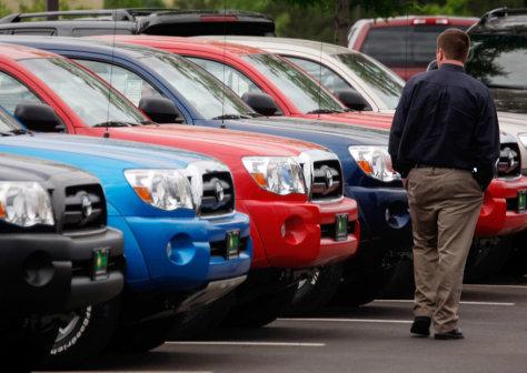 Image: 2008 Toyota Tacoma pickup trucks