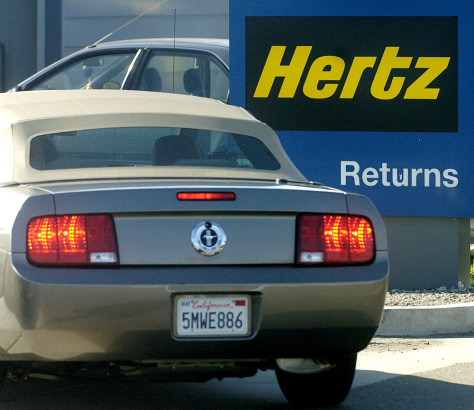 Image: Hertz Rental Car