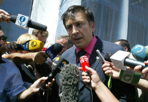 Image: President Mikhail Saakashvili