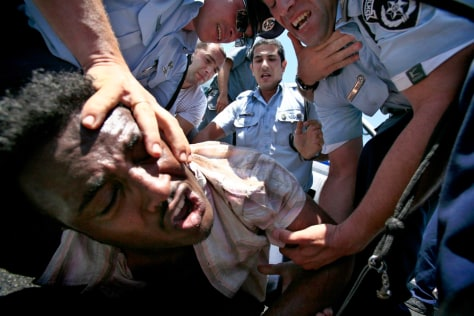 Image: Ethiopian Jews demonstrate