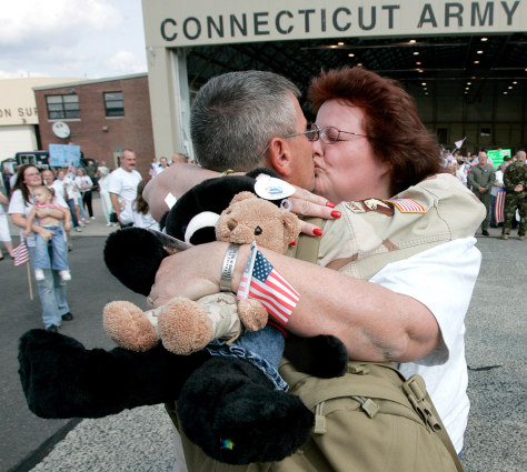 Image: National Guard homecoming