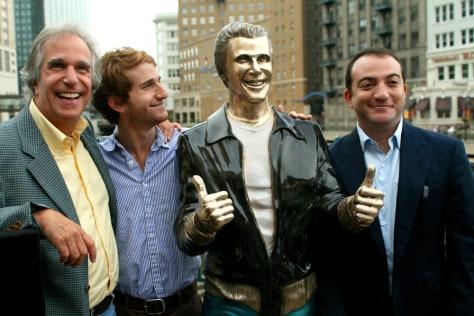 Image: Henry Winkler, Max Winkler, Jed Weitzman