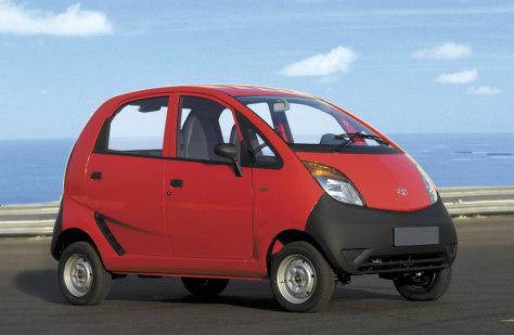 "Image: ""Nano"" car from the Tata Group"