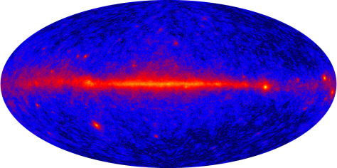 Image: All-sky gamma-ray map
