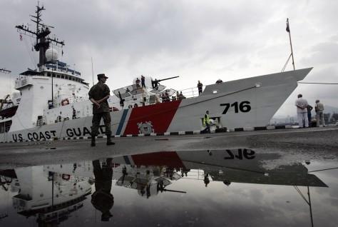 Image:U.S. Coast Guard cutter in Georgia