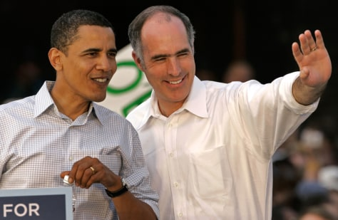 Image: Barack Obama, Bob Casey