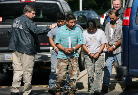 Image: Suspected illegal immigrants in Miss.