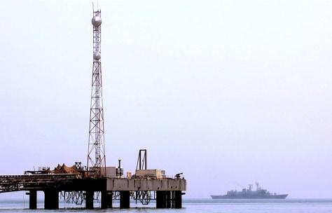 Image: Oil platform