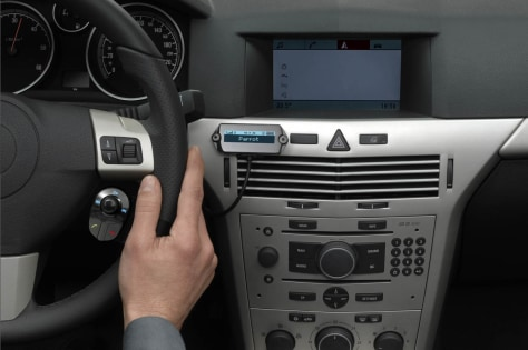 Image: Parrot's Bluetooth car speaker