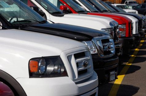 Image: 2008 Ford F150 pickup trucks
