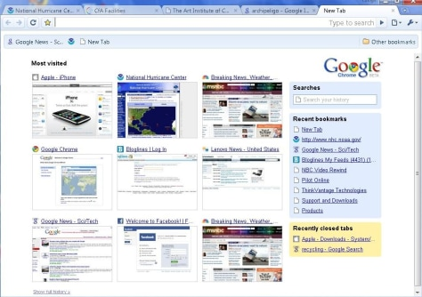 Image: Screenshot from Google Chrome Web browser