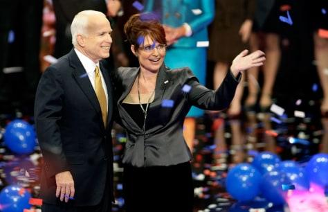 Image: John McCain, Sarah Palin