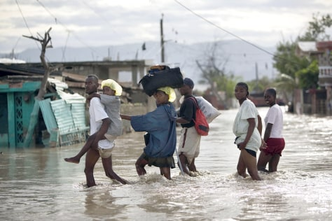 Image: Flooding in Haiti