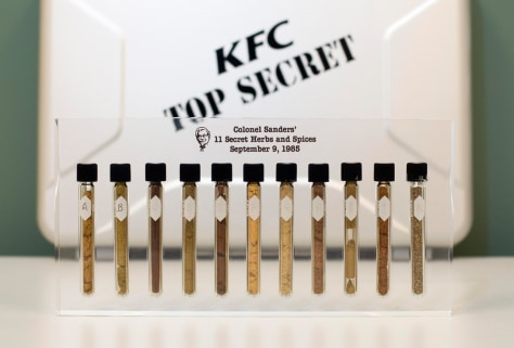 Image: KFC's 11 secret herbs and spices