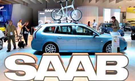 Image: Saab car