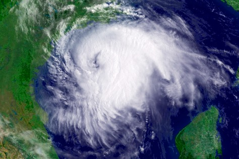 Image: Hurricane Ike approaches Texas