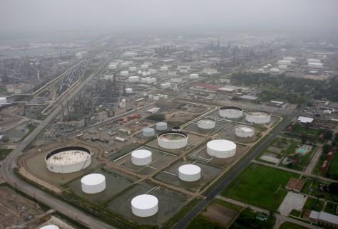 Image: Marathon refinery