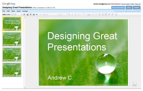 Image: Google Docs