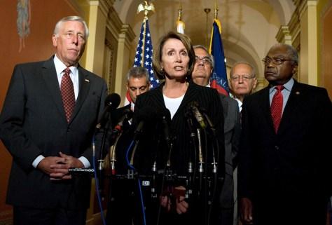 Image: Nancy Pelosi, Steny Hoyer, Barney Frank, Rahm Emanuel
