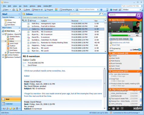 Image: Email screenshot