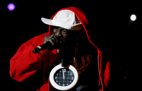 Image: Flavor Flav of Public Enemy