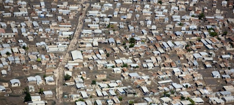 Image: Aerial of muddy Gonaives
