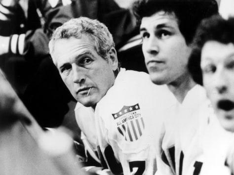"""Image: Paul Newman in """"Slap Shot"""""""
