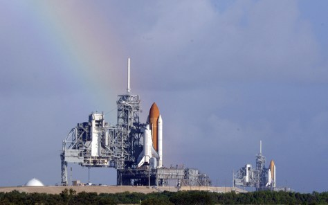 Image: Space shuttle Atlantis