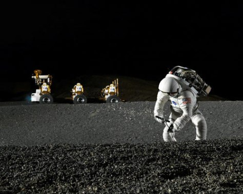 Image: NASA's new lunar truck prototype