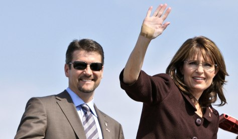 Image: Todd and Sarah Palin
