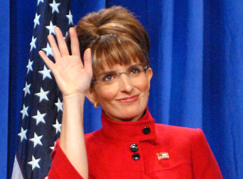 Image: Tina Fey as Sarah Palin