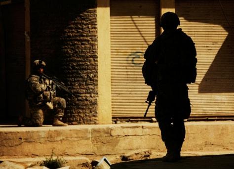 Image: U.S.soldiers in Baghdad
