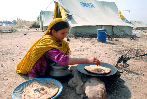 Image: Refugee camp from Bajur, Pakistan