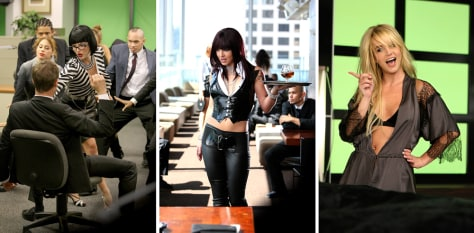 "Image: Stills from Britney Spears new video ""Womanizer"""