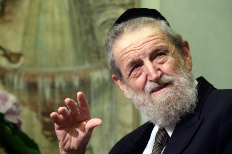 Image: Rabbi Cohen, Chief Rabbi of Haifa