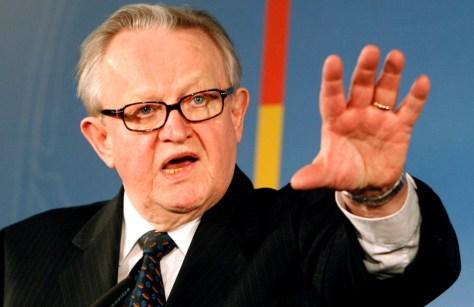 Image: Martti Ahtisaari