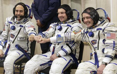 Richard Garriott, Image: Michael Fincke, Yury Lonchakov