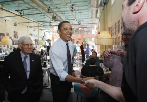 Image: Dan Rooney and Barack Obama