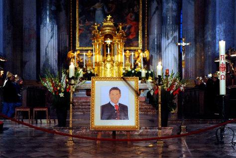 Image: Memorial service for Joerg Haider in Klagenfurt