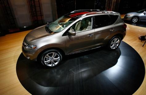 Image: Nissan Murano SUV