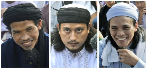 Image: Convicted Bali bombers