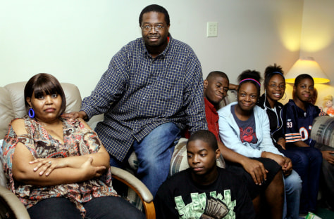 Image: Donald Hendricks and family
