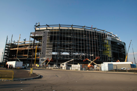 Image: New York Jets stadium construction