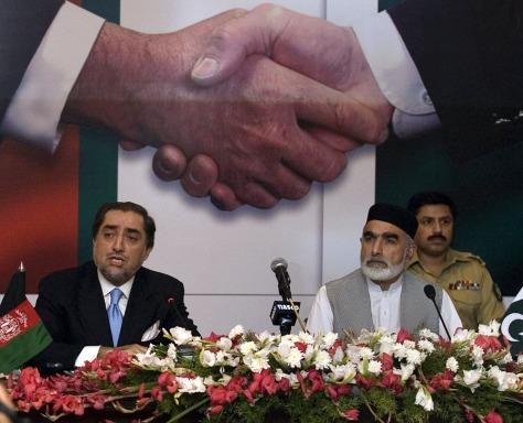 Image: Abdullah Abdullah and Ahmed Ghani