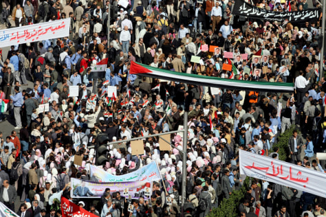 Image: Syrians demonstrate in Damascus
