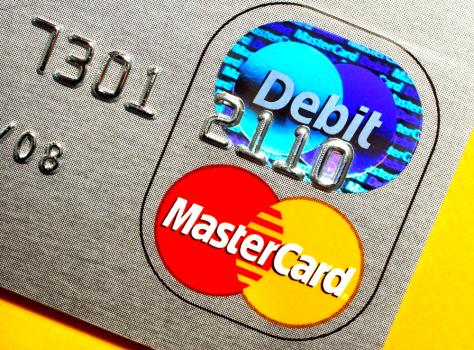 Image: Debit card