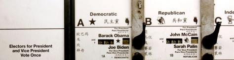 Image: Language ballot