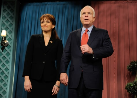 Image: Tina Fey and John McCain on Saturday Night Live